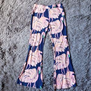 Lilly Pulitzer flamingo pant H